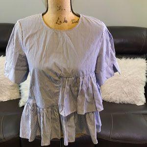 Gorgeous Farrow stripe blouse